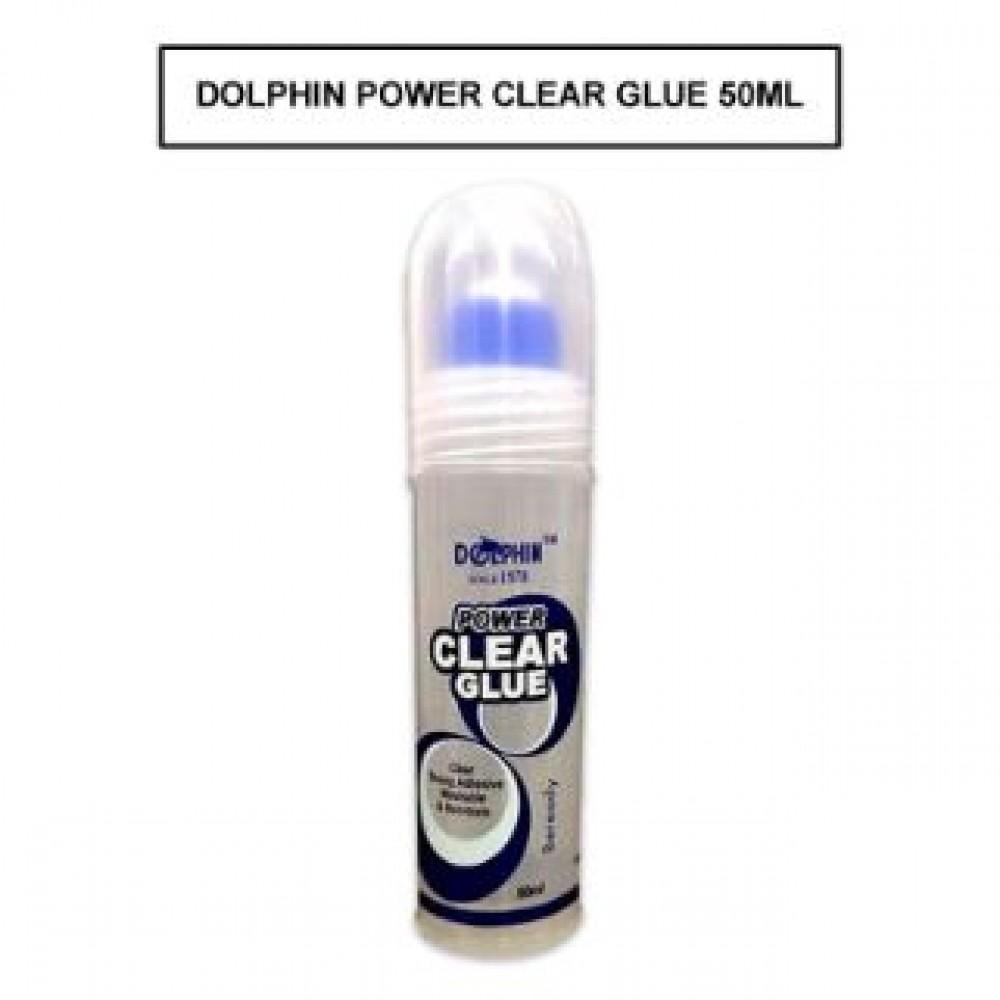DOLPHIN POWER CLEAR GLUE 50ML