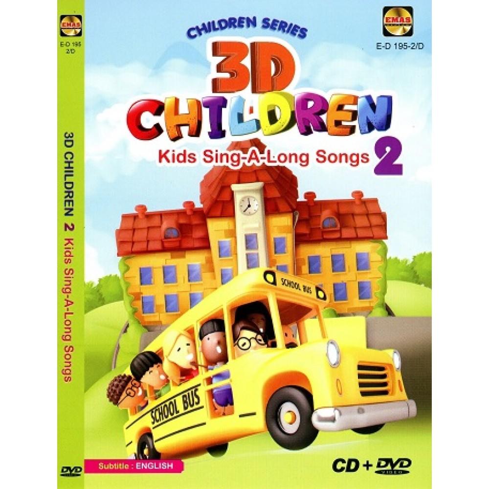 3D CHILDREN 2-KID SING-A-LONG SONG(CD+DVD)