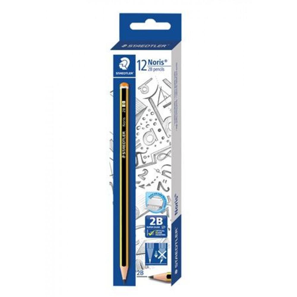 STAEDTLER Noris 2B Pencils 12 Pieces in Box
