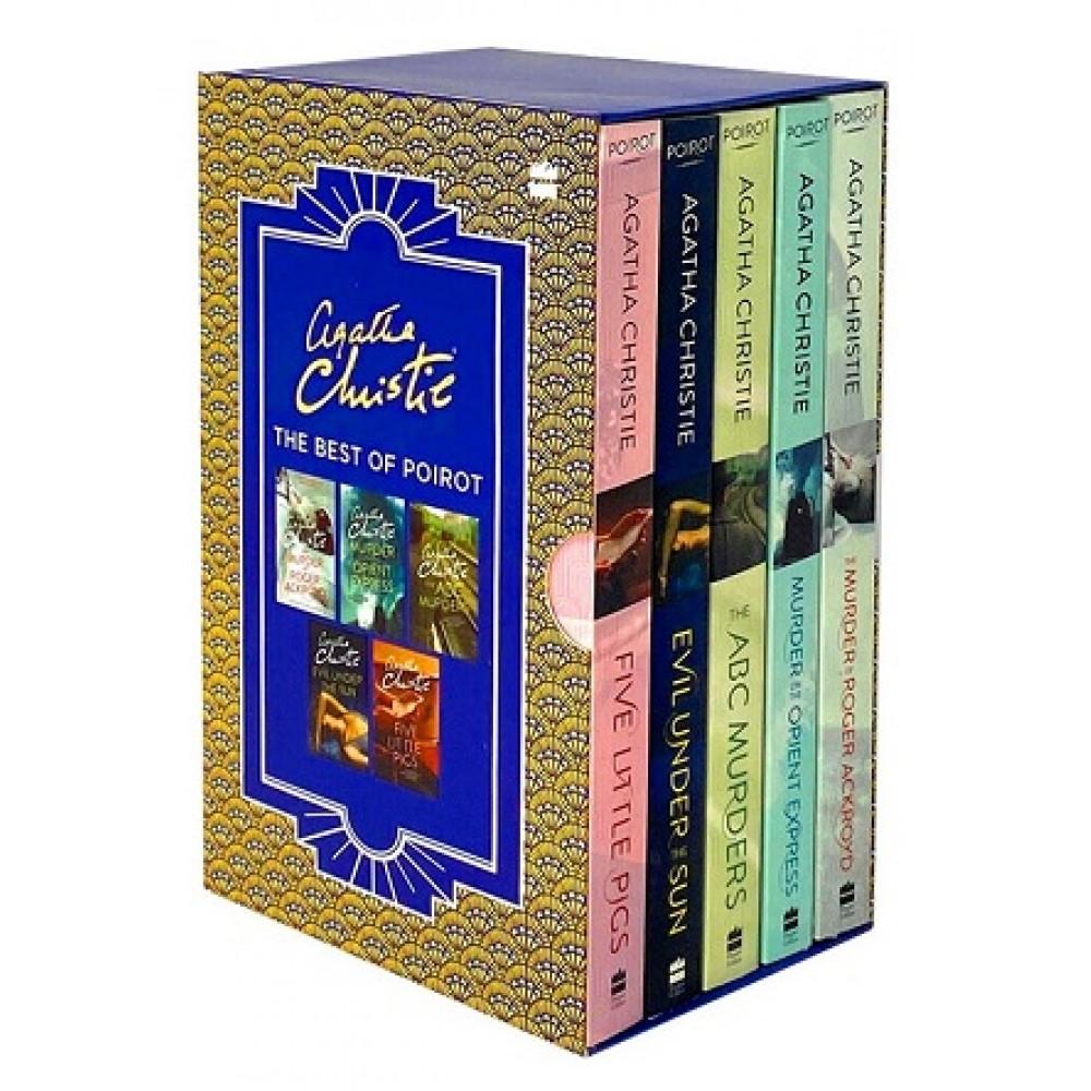 AGATHA CHRISTIE: BEST OF POIROT BOX SET (5 BOOKS)