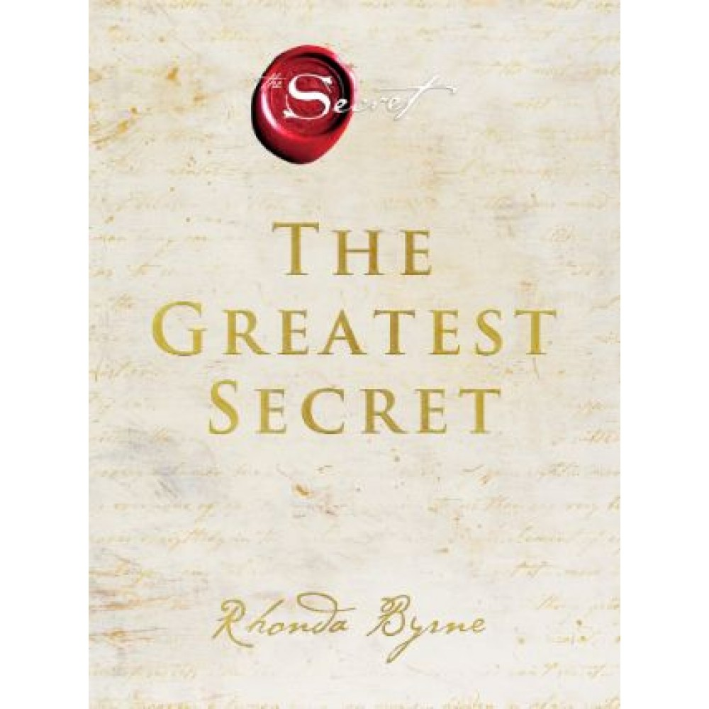 The Greatest Secret (HB) - US Edition