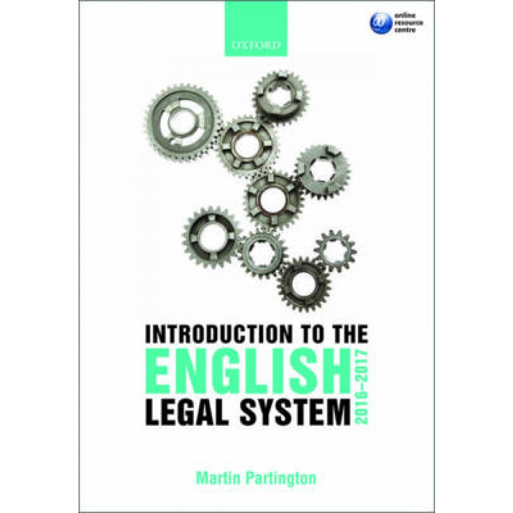 Introduction to the English Legal System: 2016-17