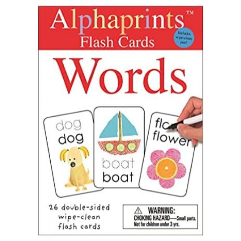 WIPE CLEAN FLASH CARDS: WORDS (ALPHAPRINTS)