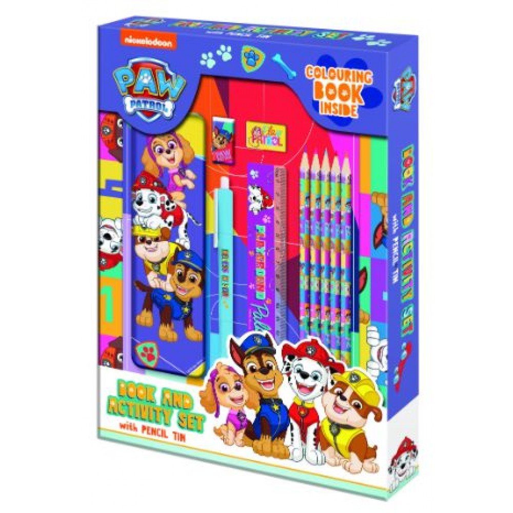 Paw Patrol Book And Activity Set