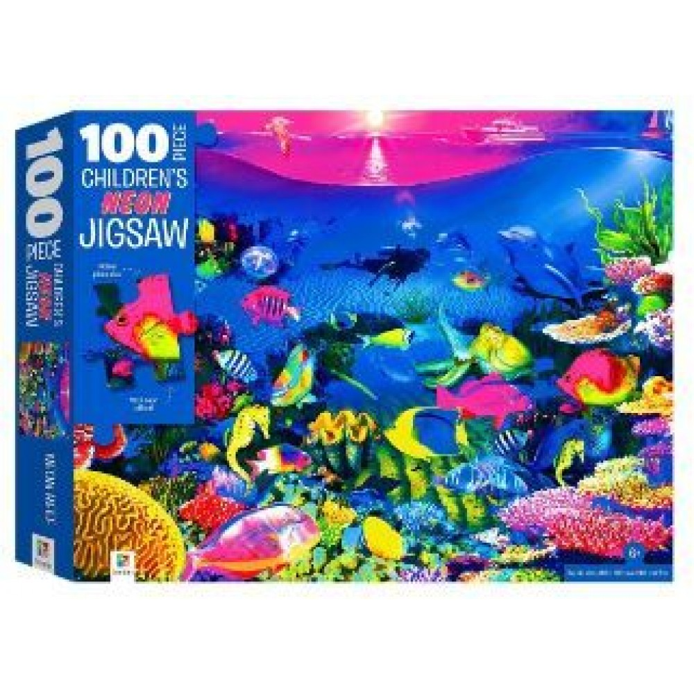 HINKLER CHILDREN JIGSAW PUZZLE WITH TREATMENTS REEF 100PCS