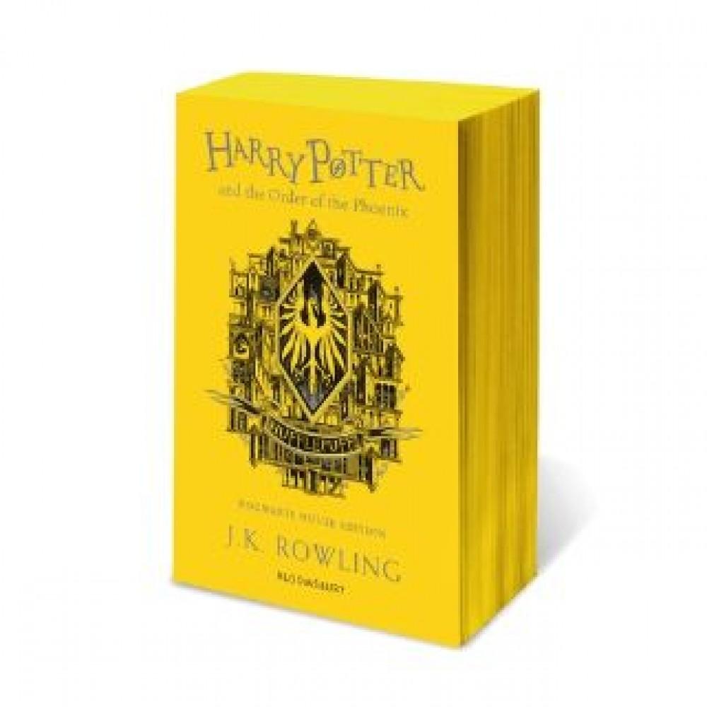 HP #05: Order of the Phoenix (Hufflepuff)