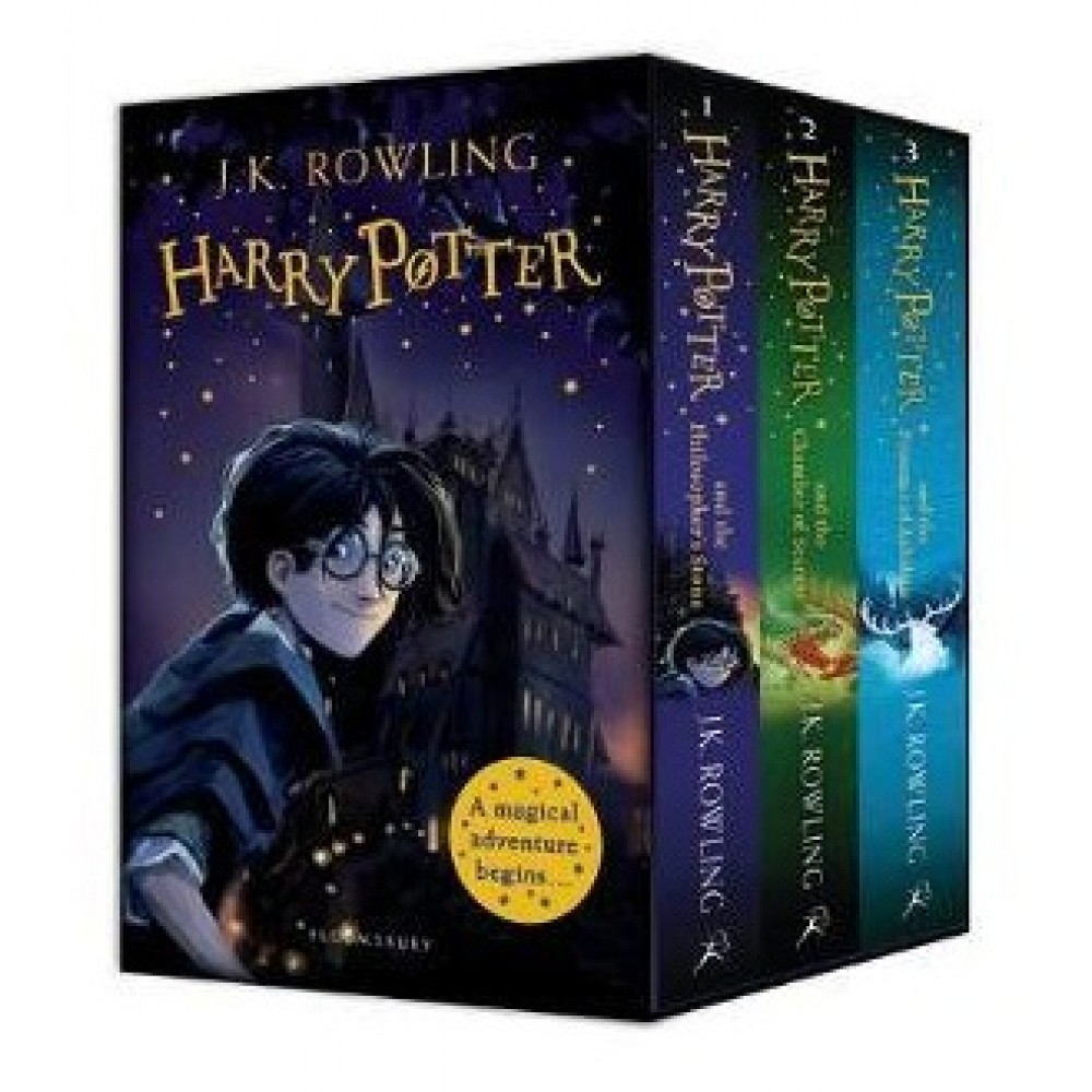 HARRY POTTER 1-3 BOX SET: A MAGICAL ADVENTURE BEGIN