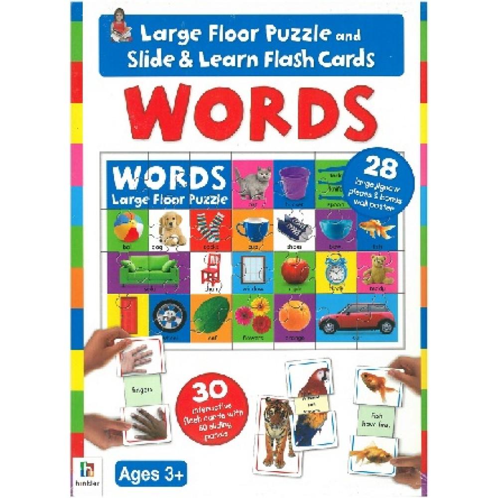 C-FLASHCARD FLOOR PUZZLE: WORDS