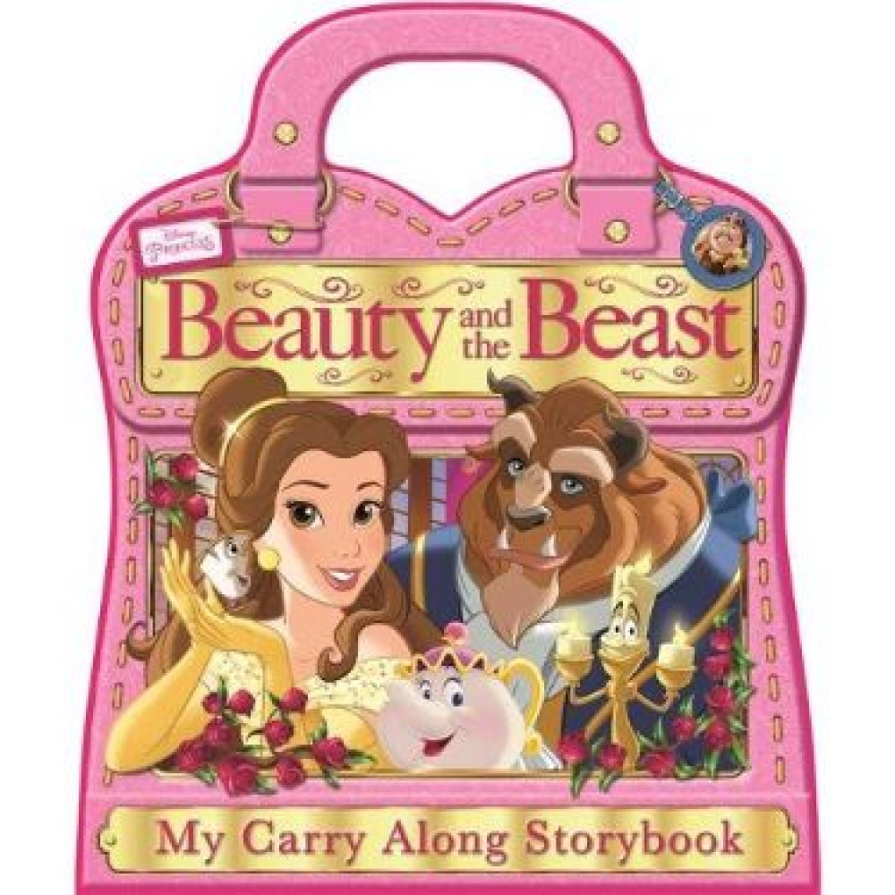 Disney Princess Beauty and the Beast Carry-Along Storybook