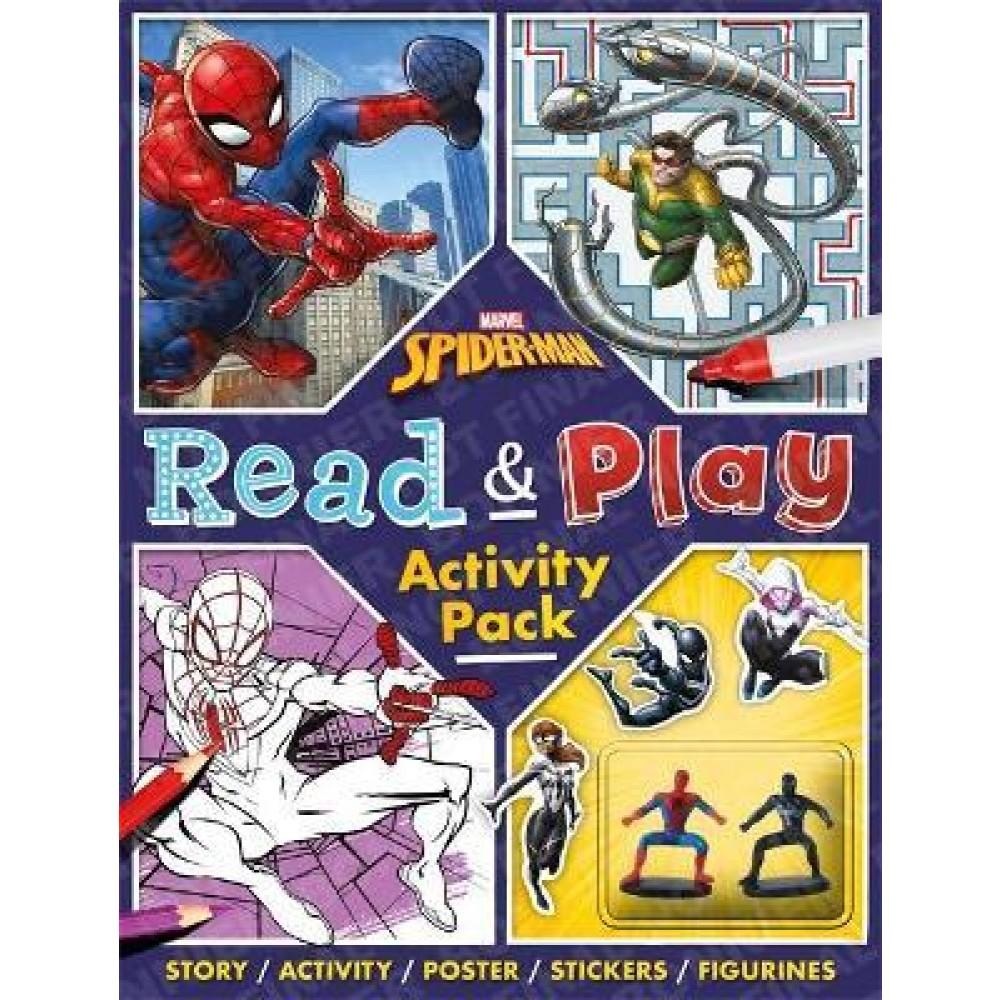Marvel Spider-Man Read & Play Activity Pack
