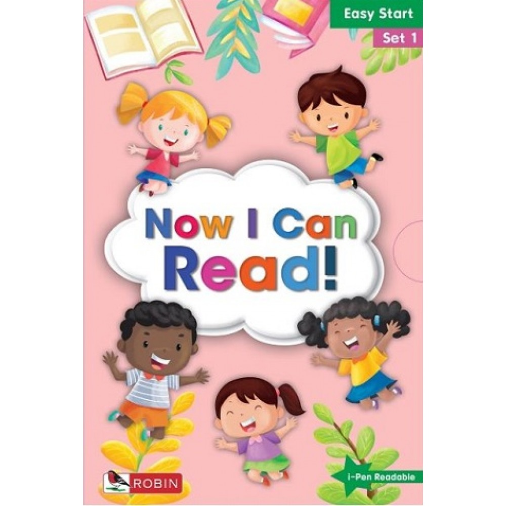 ROBIN: NOW I CAN READ! EASY START SET 1
