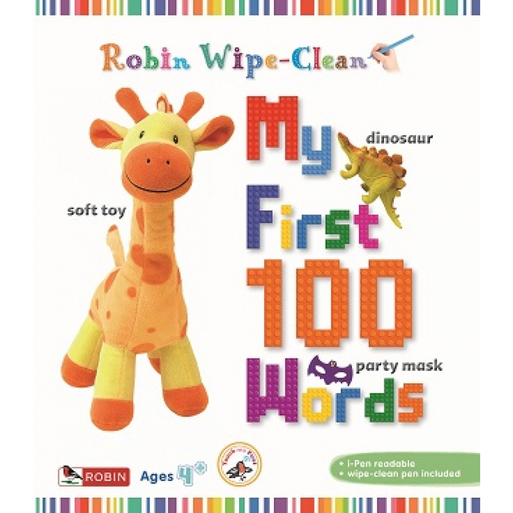 ROBIN WIPECLEAN: MY FIRST 100 WORDS
