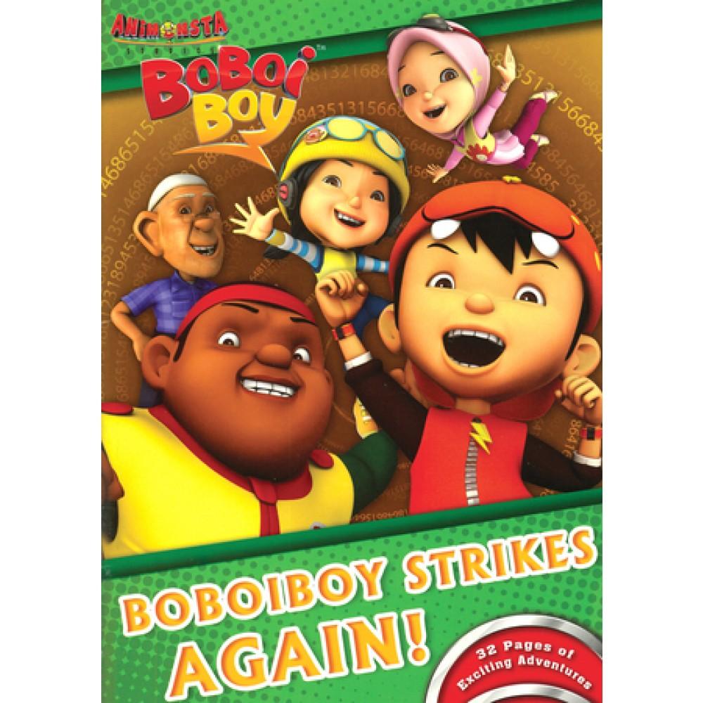 BOBOIBOY STRIKES AGAIN! (WITH COLOUR PENCILS)