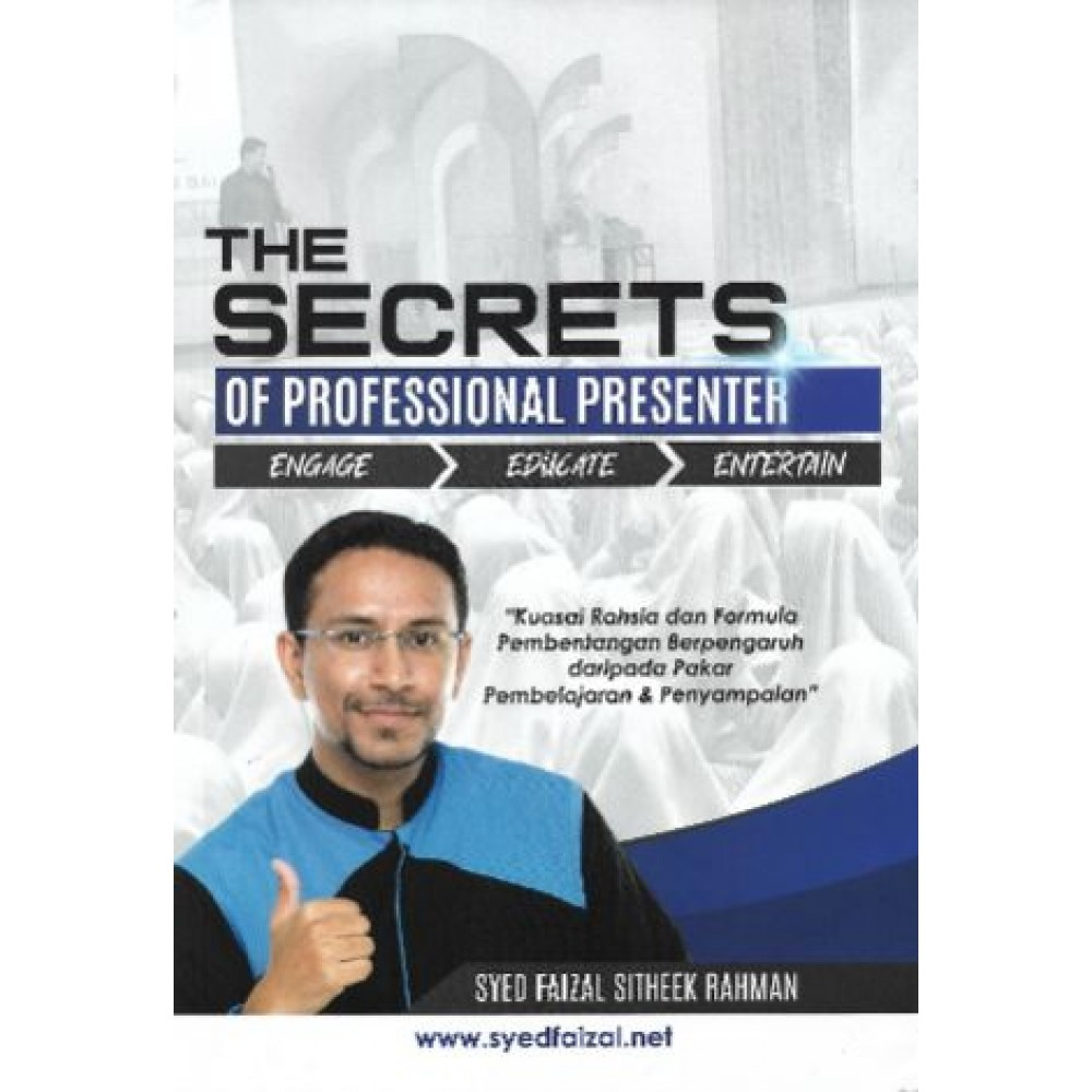 THE SECRETS OF PROFESSIONAL PRESENTER