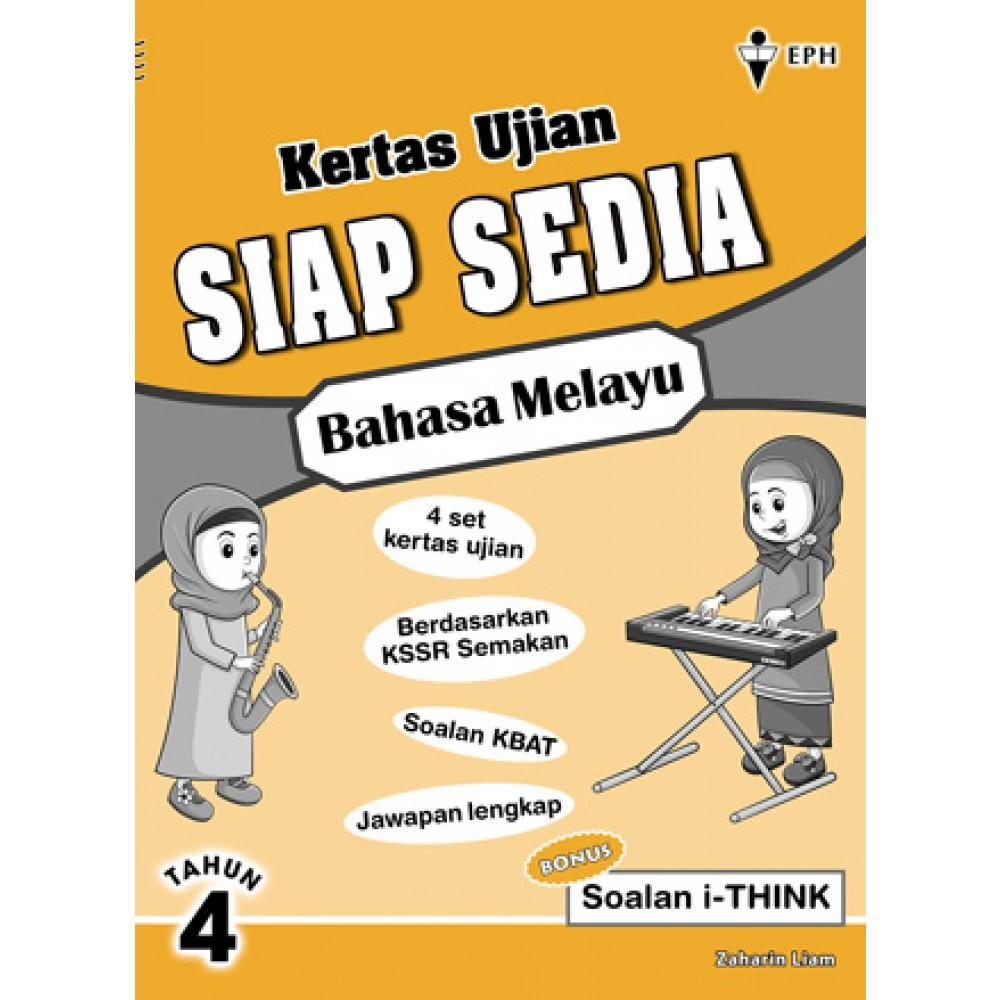 Tahun 4 Kertas Ujian Siap Sedia Bahasa Melayu