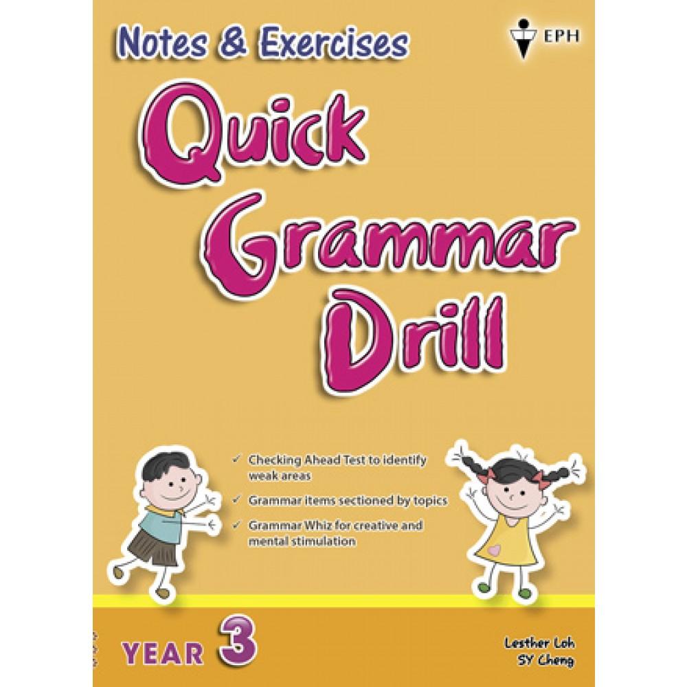 Tahun 3 Notes & Exercises Quick Grammar Drill English