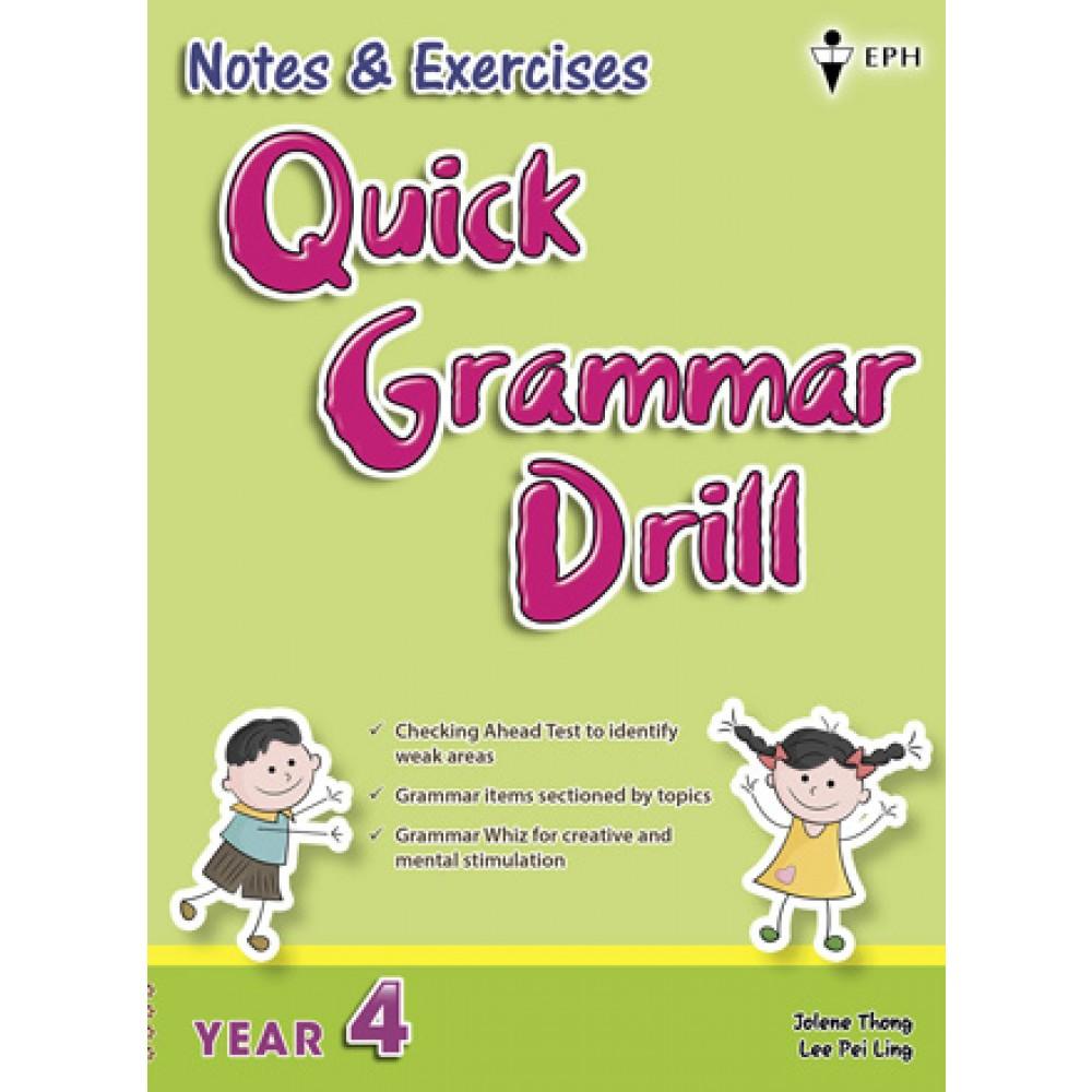 Tahun 4 Notes & Exercises Quick Grammar Drill English