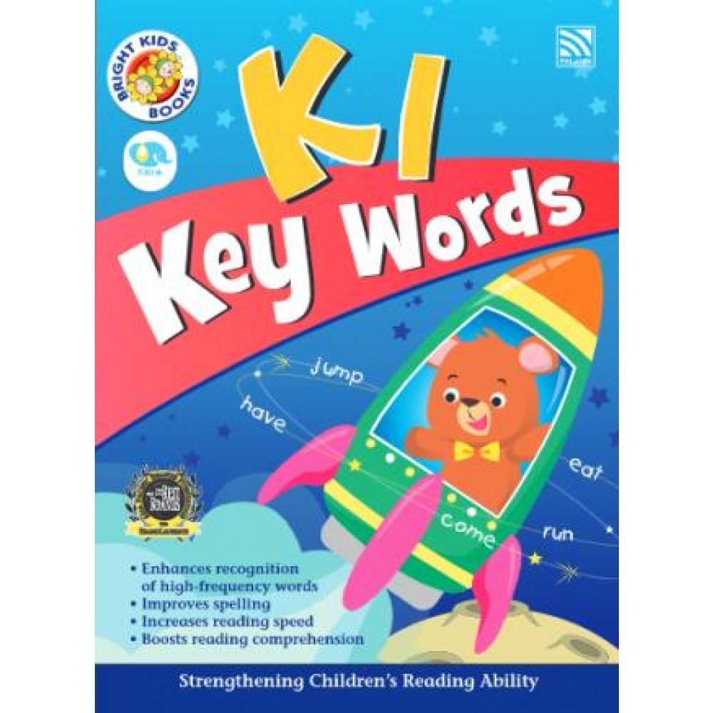 K1 BRIGHT KIDS BOOKS - KEY WORDS