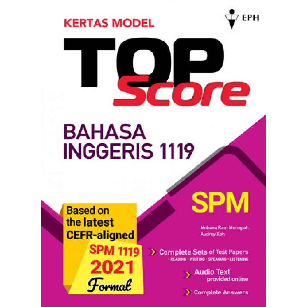 Kertas Model Top Score Bahasa Inggeris