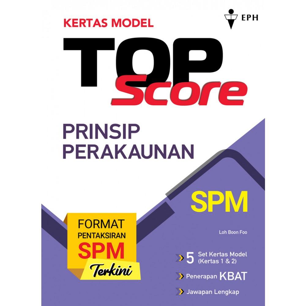 Kertas Model Top Score Prinsip Perakaunan
