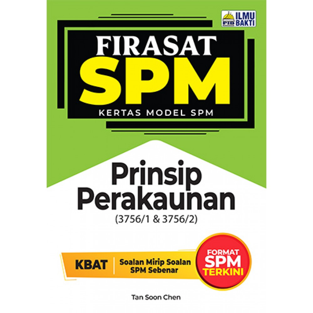 FIRASAT SPM KERTAS MODEL SPM PRINSIP PERAKAUNAN