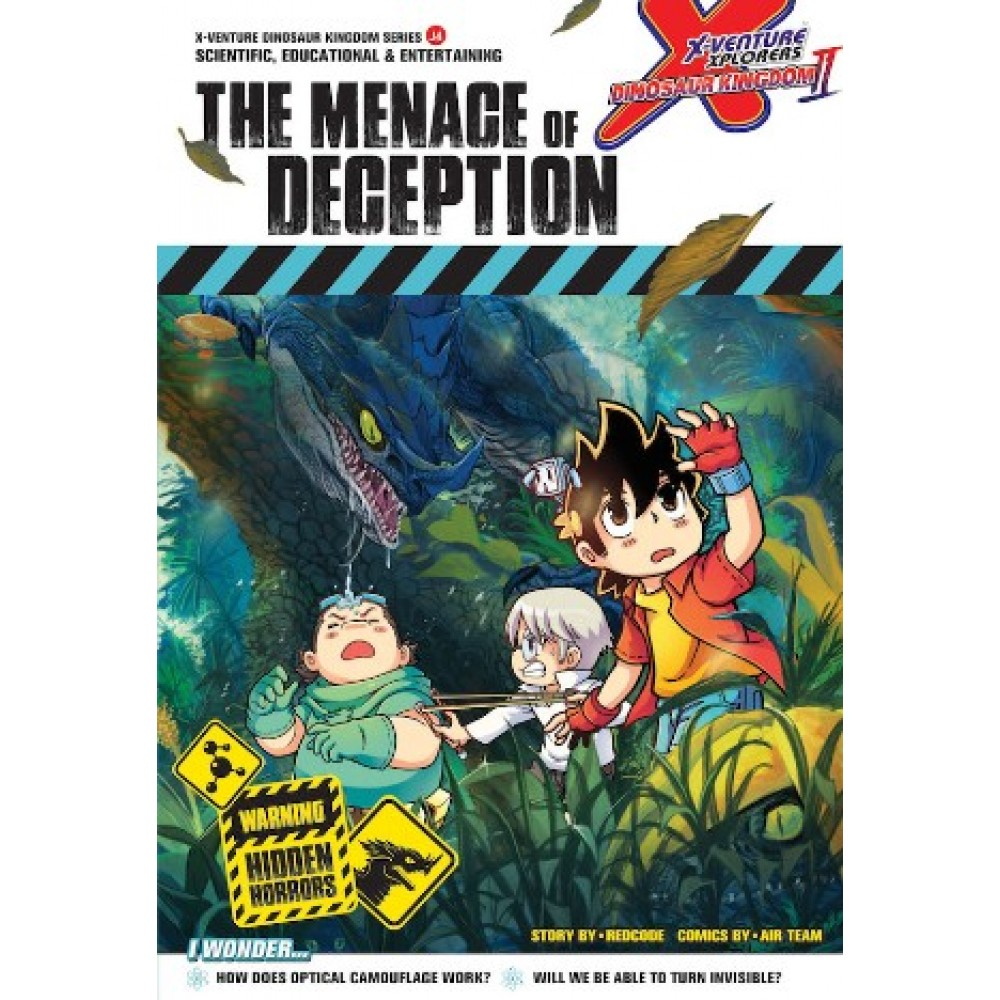 X-VENTURE DINOSAUR KINGDOM II 04: THE MENACE OF DECEPTION