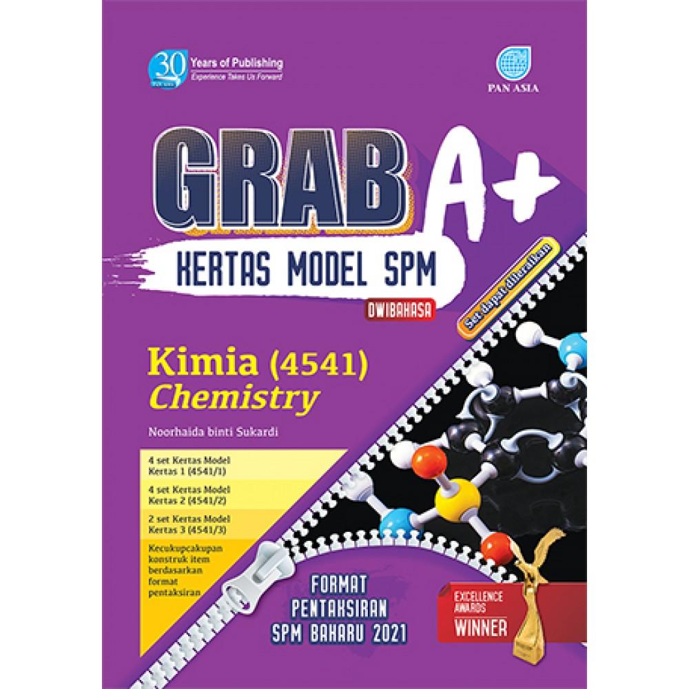 SPM GRAB A+ KERTAS MODEL KIMIA(DWIBAHASA)