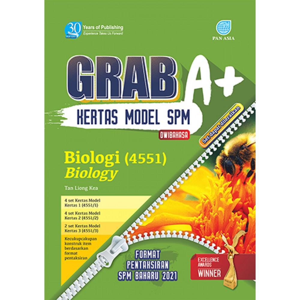 SPM GRAB A+ KERTAS MODEL BIOlOGI(DWIBAHASA)