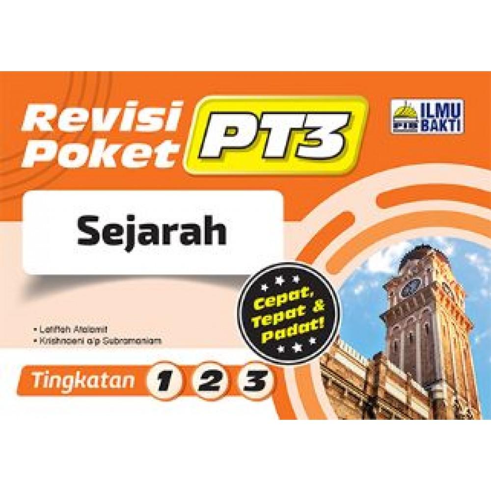 TINGKATAN 1-3 REVISI POKET PT3 SEJARAH
