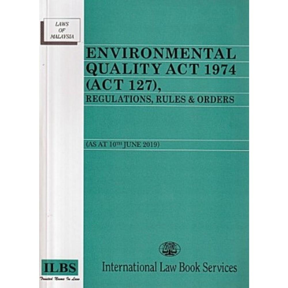 Environmental Quality Act 1974 Act 127 English Books