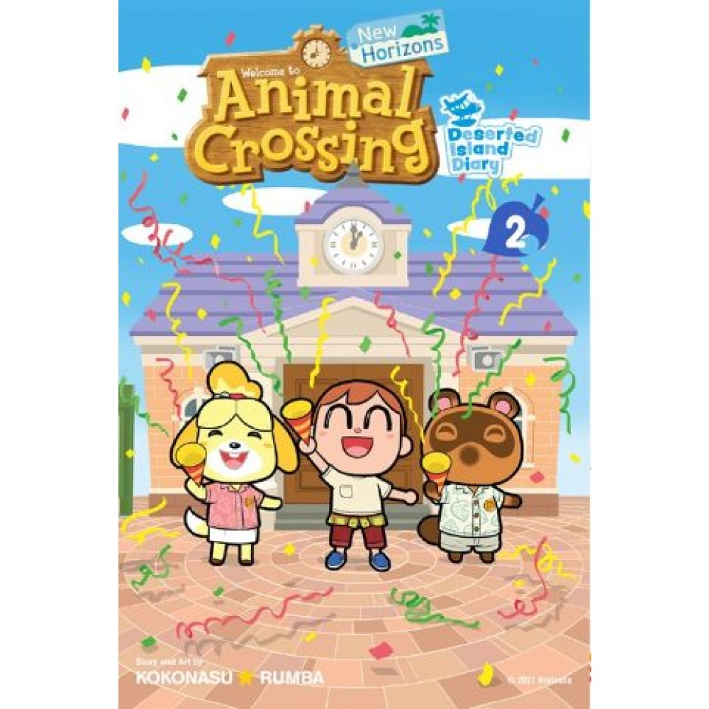 Animal Crossing Deserted Island Diary #2