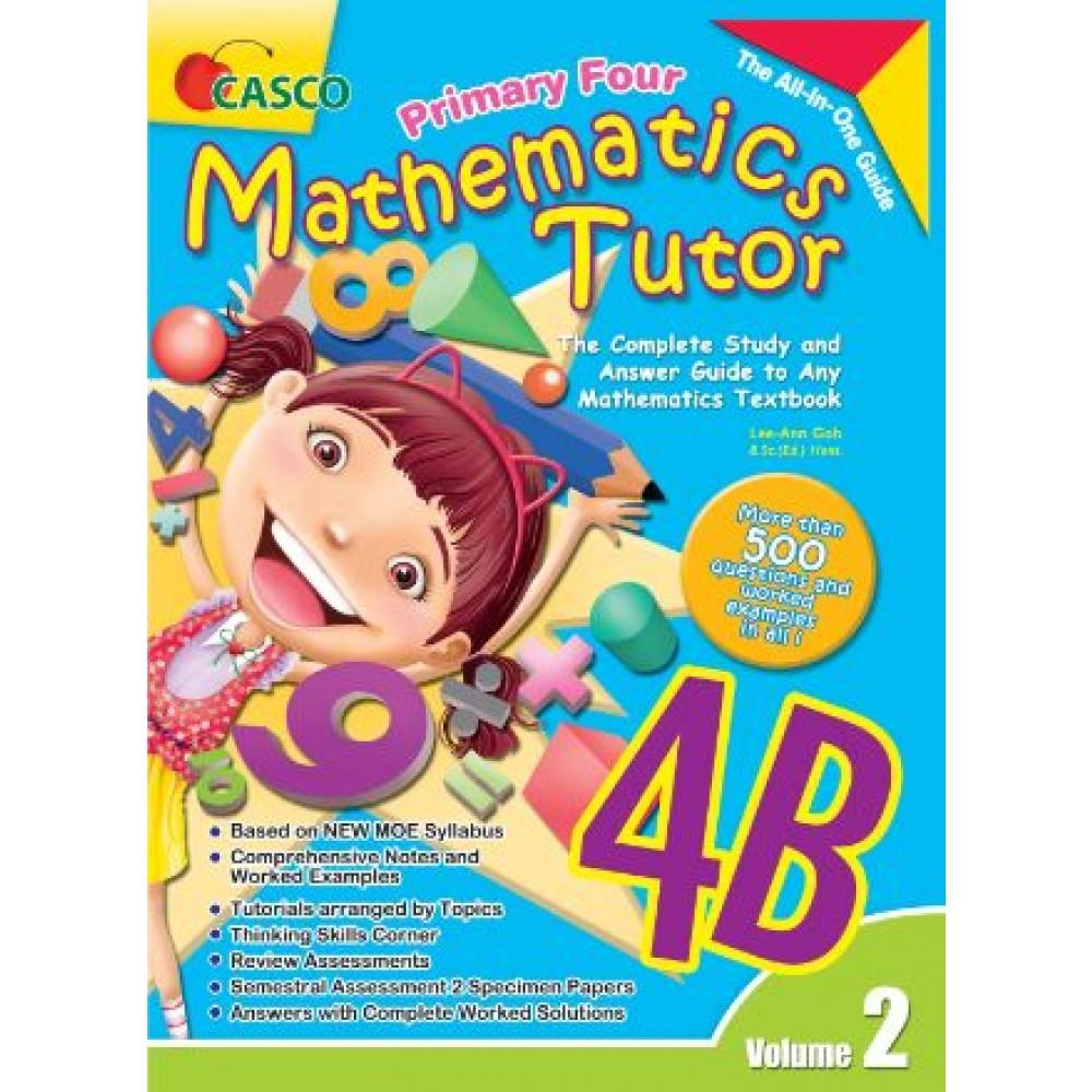 P4B Mathematics Tutor Vol 2