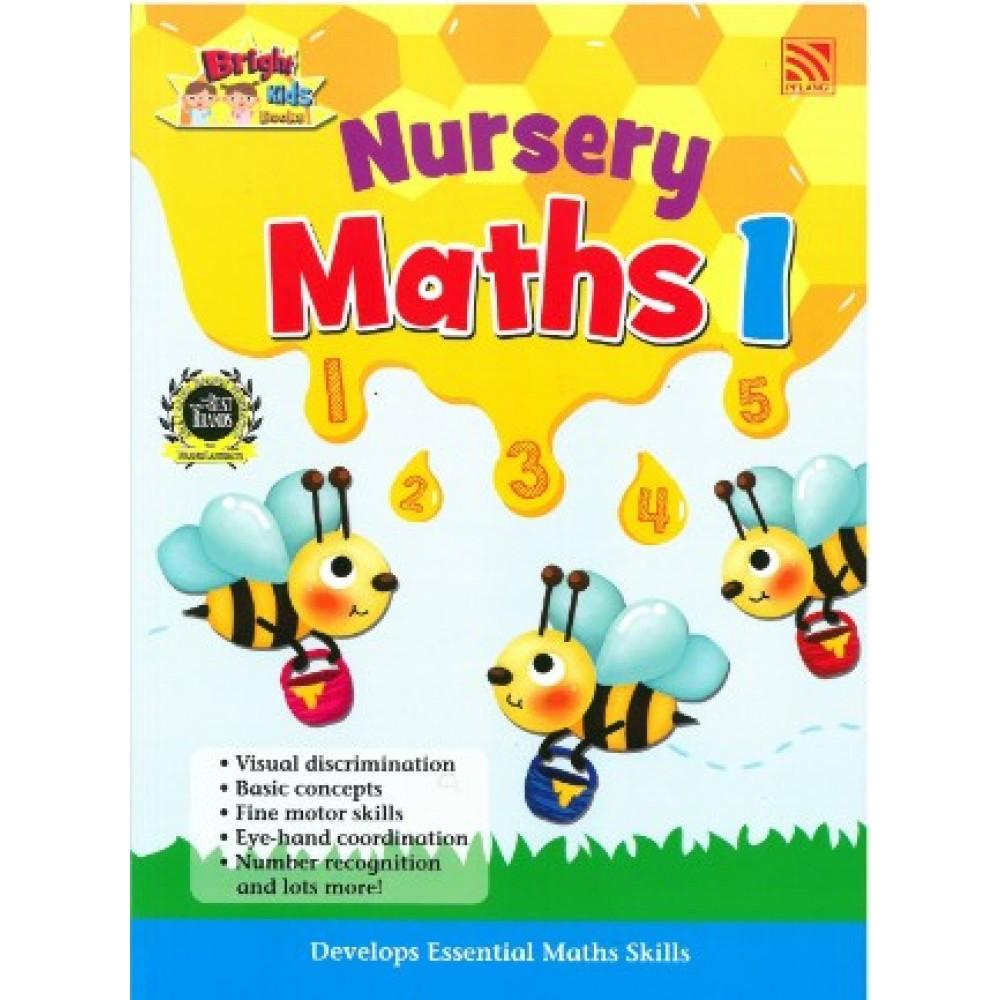 NURSERY BRIGHT KIDS BOOKS - MATHEMATICS BOOK 1