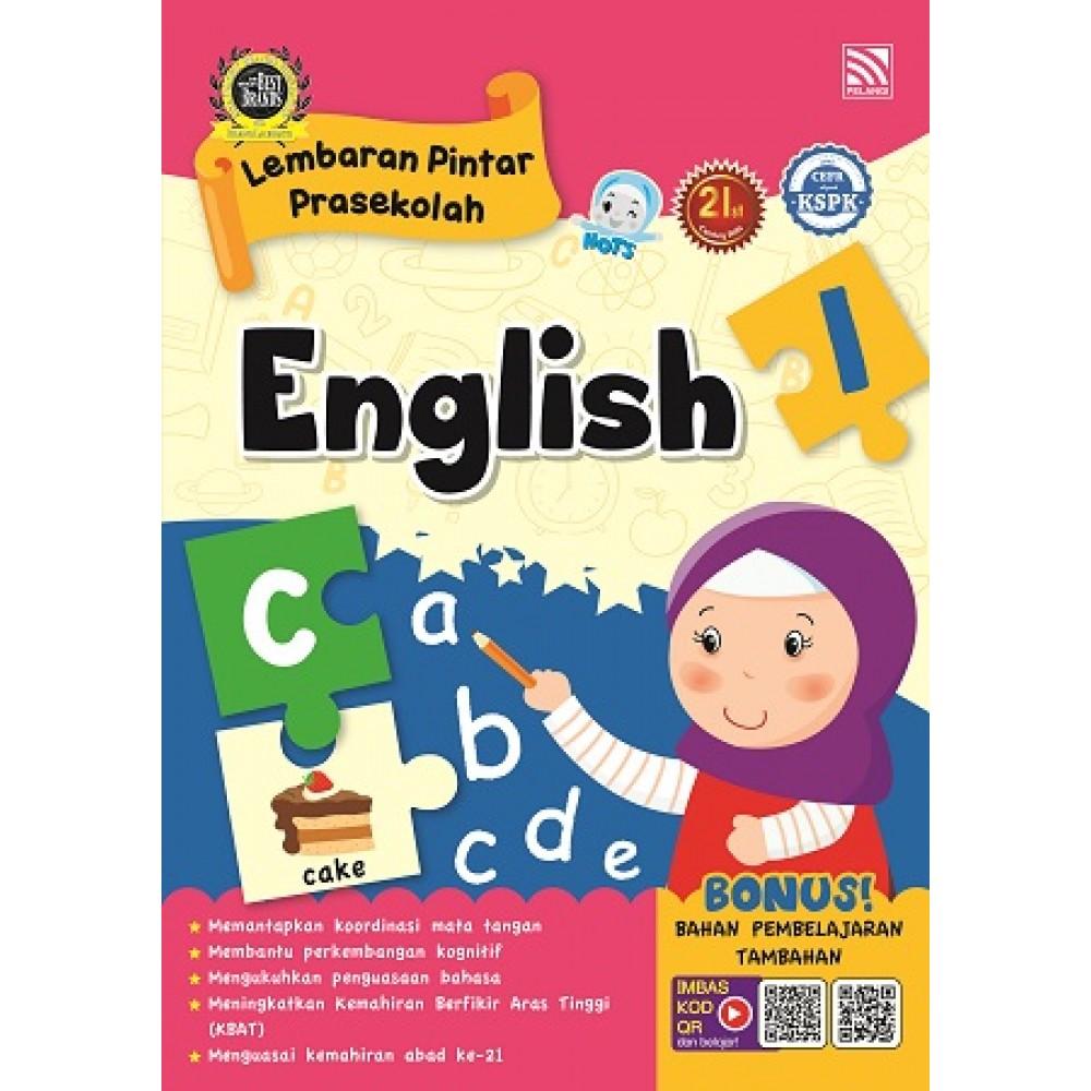 PRASEKOLAH LEMBARAN PINTAR ENGLISH 1