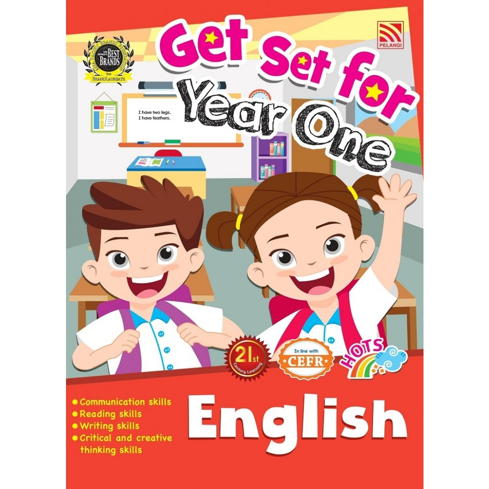GET SET FOR YEAR ONE: ENGLISH