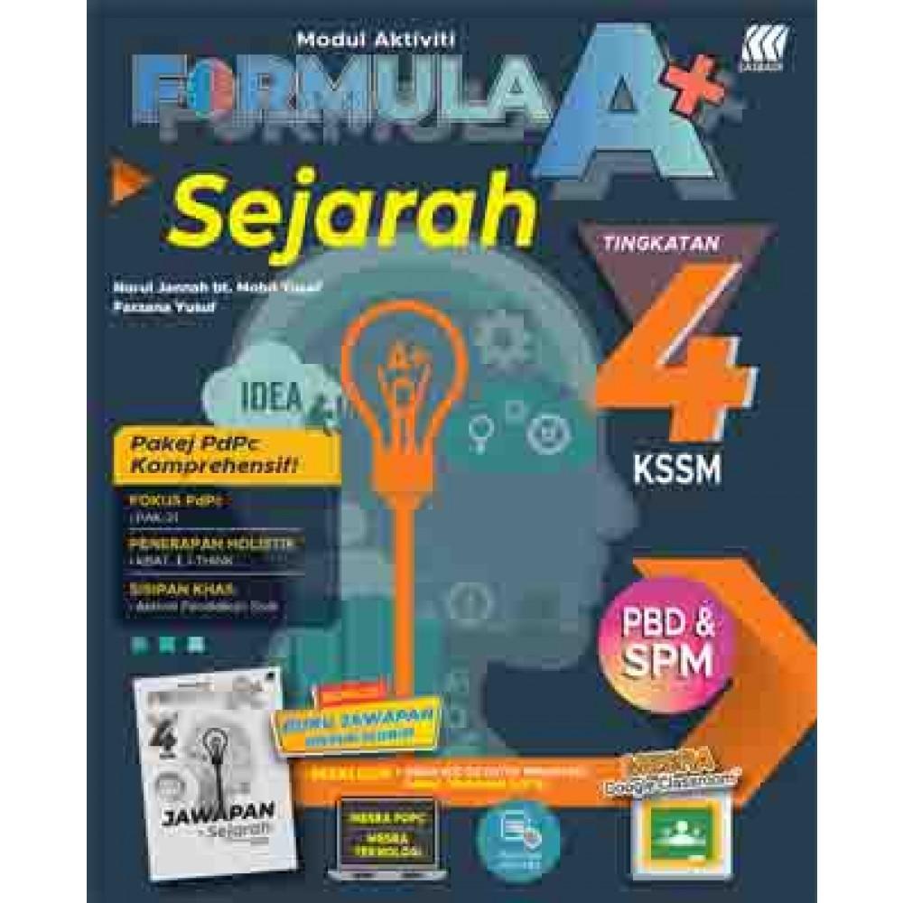 Tingkatan 4 Modul Aktiviti Formula A Kssm Sejarah