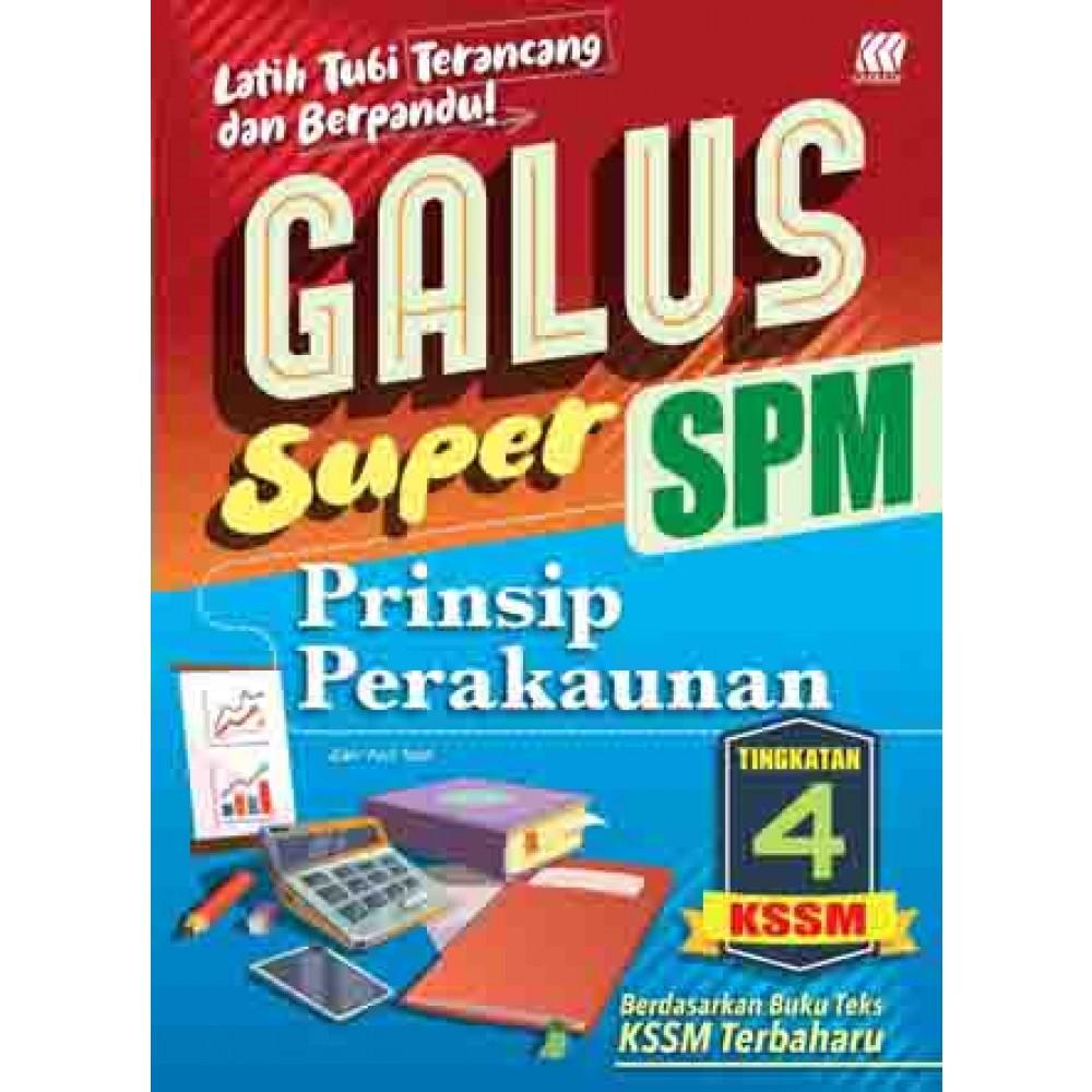 TINGKATAN 4 GALUS SPM PRINSIP PERAKAUNAN