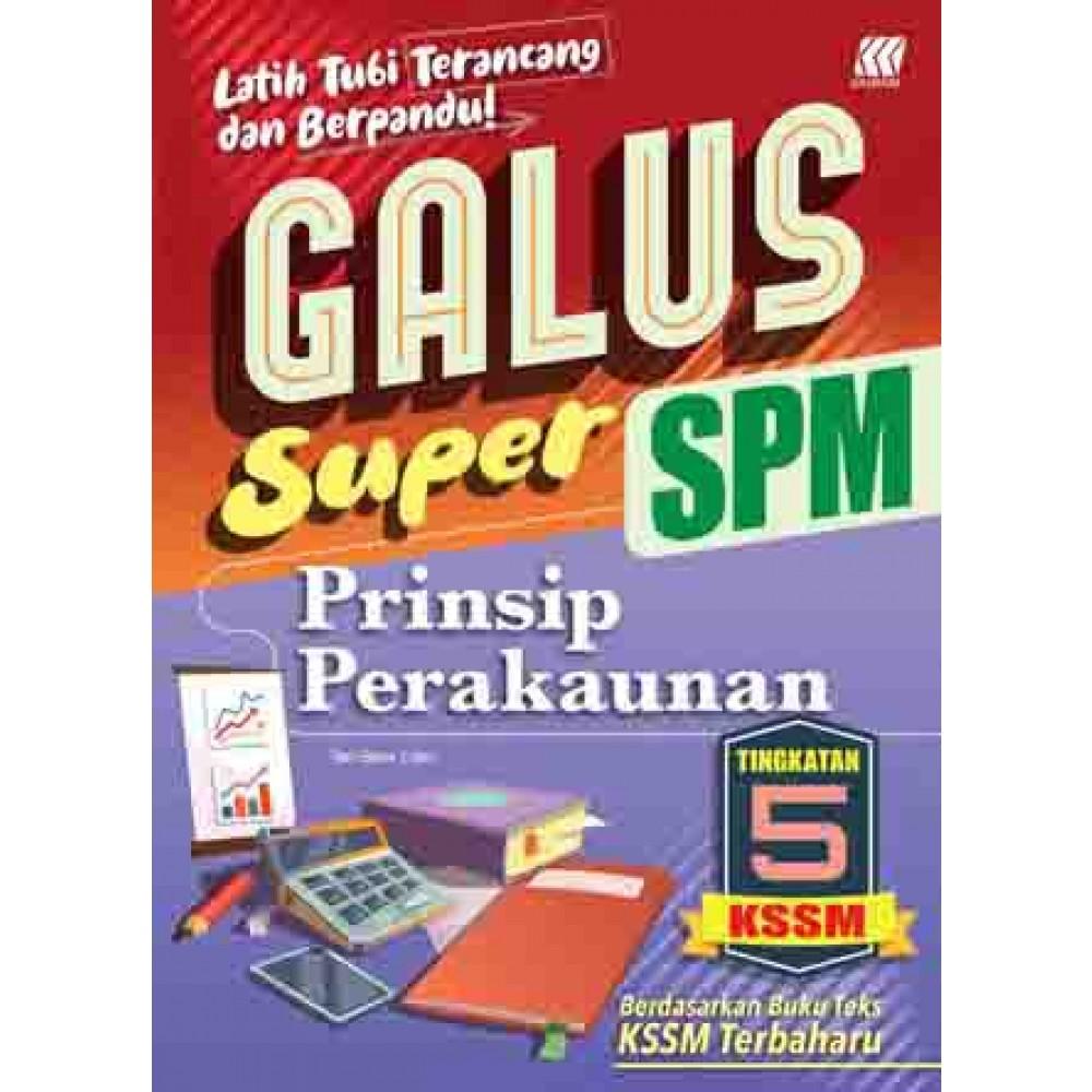 TINGKATAN 5 GALUS SPM PRINSIP PERAKAUNAN