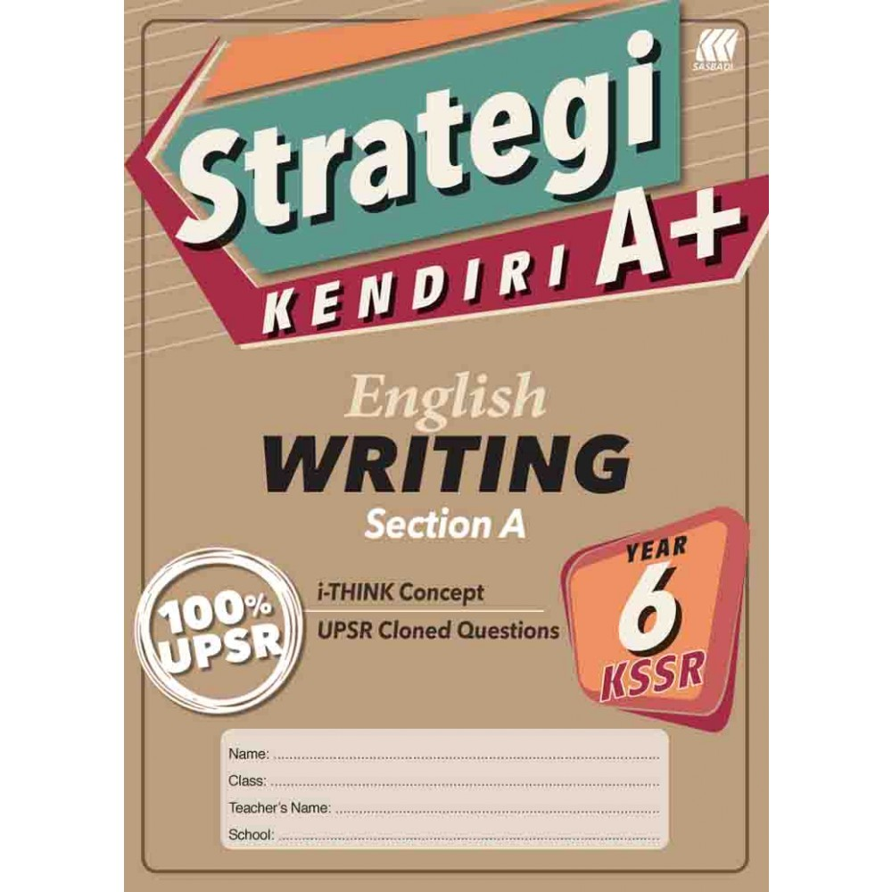 Tahun 6 Strategi Kendiri A+ English Writing Section A