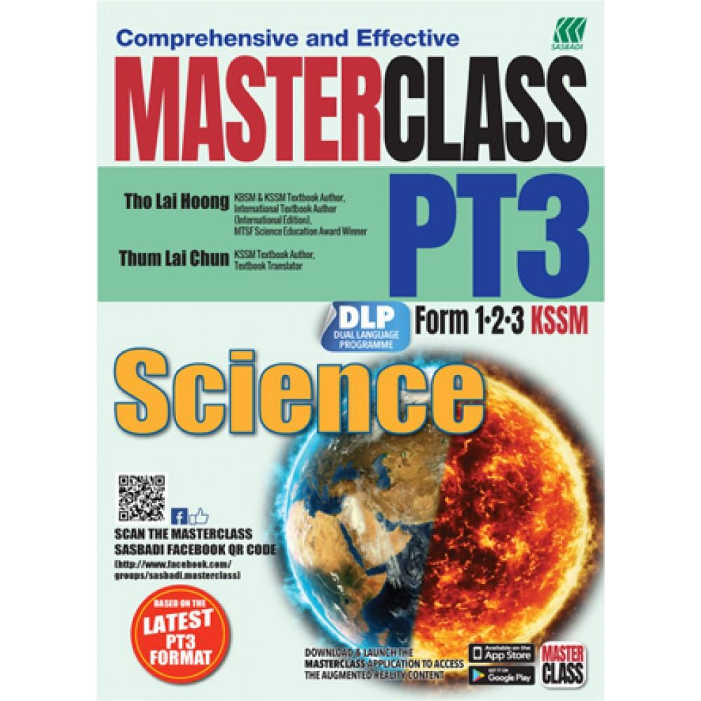 MASTERCLASS PT3 SCIENCE