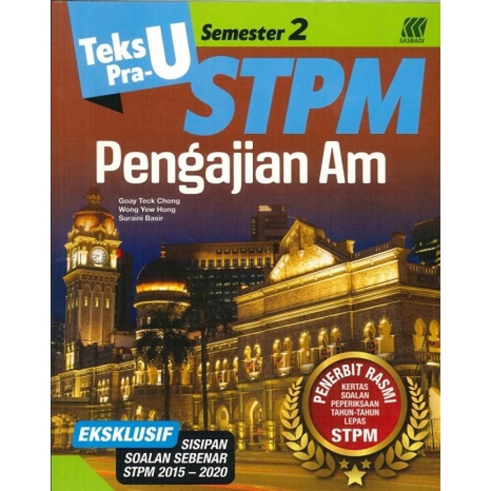 Semester 2 Teks Pra-U STPM Pengajian Am