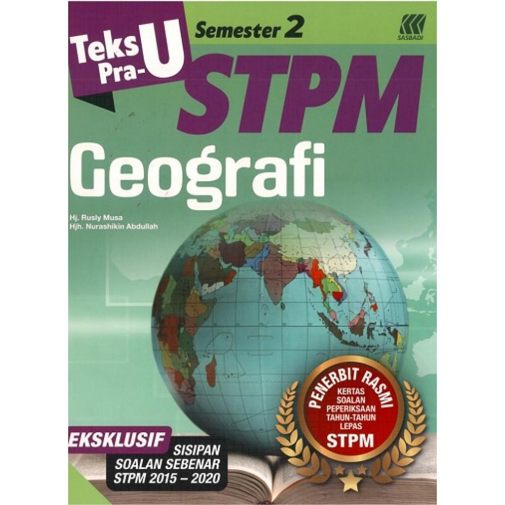 Semester 2 Teks Pra-U STPM Geografi