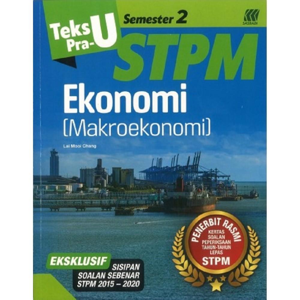Semester 2 Teks Pra-U STPM Ekonomi