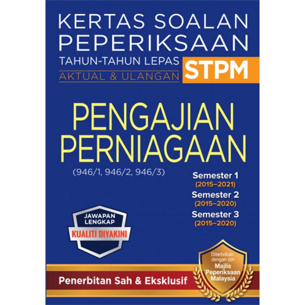 KSPTL STPM Semester 1, 2, 3 Pengajian Perniagaan (Edisi 2022)