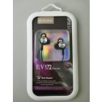 EV172 EARPHONE BLACK