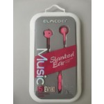 EV180 EARPHONE RED