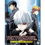 TOKYO GHOUL VOL.1-37 END +2 OVA+ LIVE ACTION (5DVD)