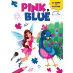 MY COPY TO COLOUR: PINK & BLUE