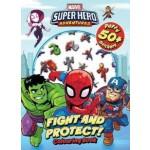 Marvel Superhero Adventures Puffy Sticker Book