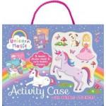 Unicorn Magic Bubble Sticker Activity Case